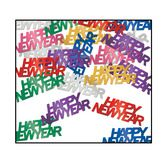 New Years Decorations Multicolor Happy New Year Confetti Image