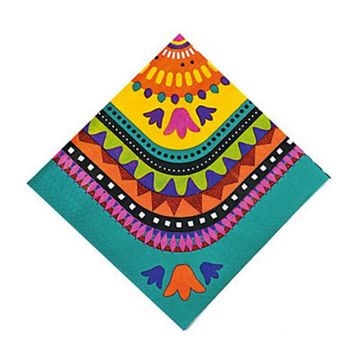 Cinco de Mayo Table Accessories Fiesta Beverage Napkins Image