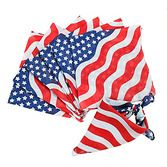 4th of July Party Wear Stars and Stripes Bandana Image