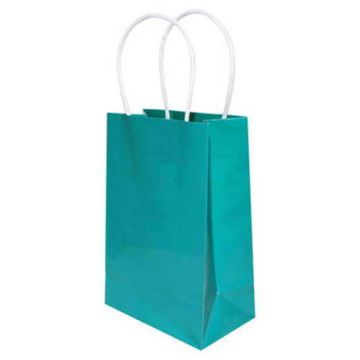 Gift Bags & Paper Small Gift Bag Turquoise Image