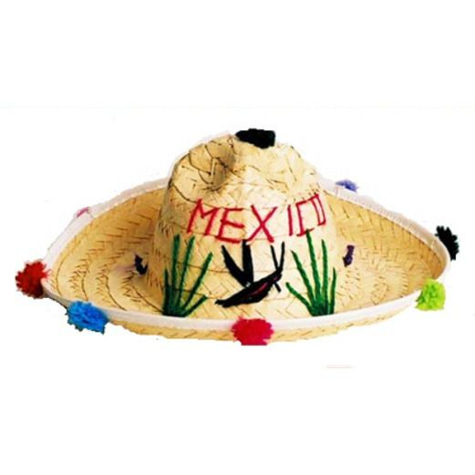 581d9b4475af0 Cinco de Mayo Hats   Headwear Child s Mexico Sombrero Image