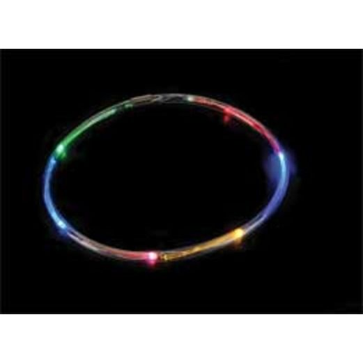Cinco de Mayo Glow Lights Blinking L.E.D. 6-Color Necklace Image