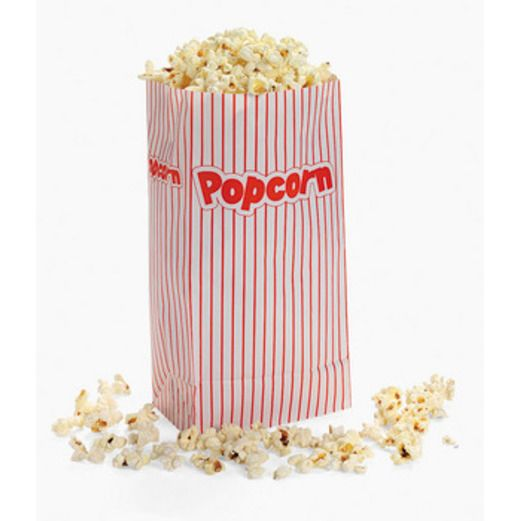 Awards Night & Hollywood Table Accessories Popcorn Paper Bags  Image