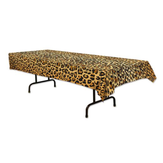 Jungle & Safari Table Accessories Leopard Print Tablecover Image