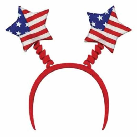 4th of July Hats & Headwear Star Head Bopper Image