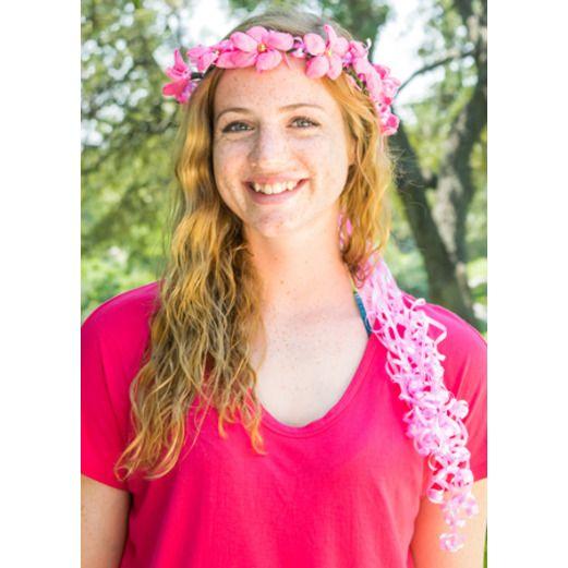 Cinco de Mayo Pink Flower Crown Image