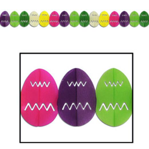 Easter Decorations Easter Egg Garland Image