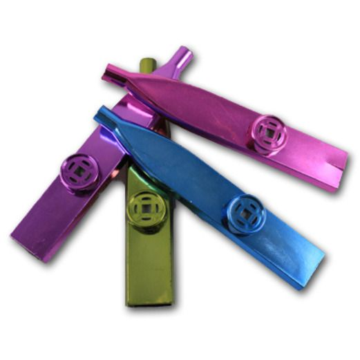 Birthday Party Favors & Prizes Plastic Metallic Kazoos Image