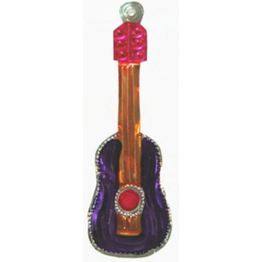 Cinco de Mayo Decorations Guitar Tin Ornament Image