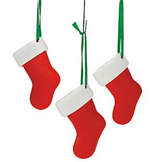 Resin Stocking Ornament