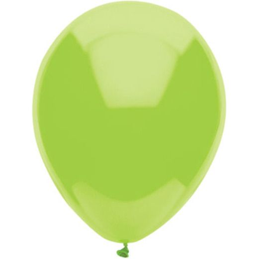 "Easter Balloons 11"" Lime Green Balloons Image"