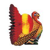 "Thanksgiving Decorations 15"" Turkey Centerpiece Image"