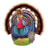 Thanksgiving Decorations Jointed Turkey Image