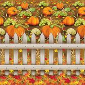 Thanksgiving Decorations Pumpkin Patch Backdrop Image