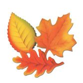 Thanksgiving Decorations Printed Leaves Image