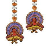 Thanksgiving Decorations Turkey Danglers Image