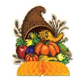 Thanksgiving Decorations Cornucopia Centerpiece Image