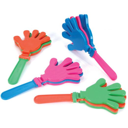 Favors & Prizes Hand Clappers Image