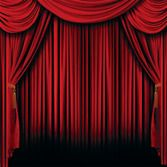 Graduation Decorations Red Curtain Backdrop Banner Image