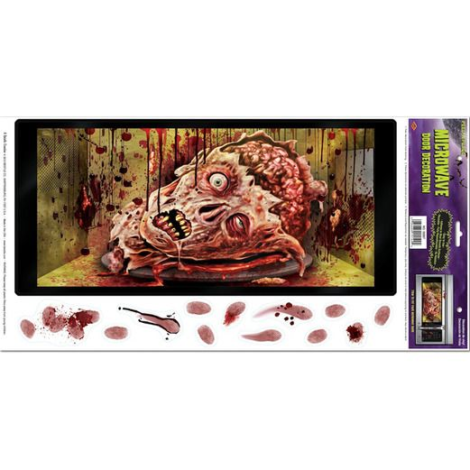 Halloween Decorations Halloween Microwave Peel n Place Image