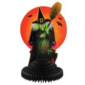 Halloween Decorations Witch Centerpiece Image