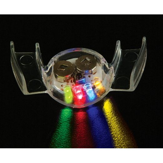 Halloween Glow Lights Flashing Mouthpiece Image