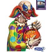 Halloween Decorations Creepy Clown Backseat Driver Image