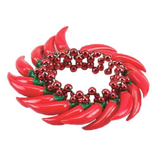 Cinco de Mayo Party Wear Chili Pepper Bracelet Image