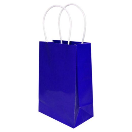Gift Bags & Paper Small Gift Bag Blue Image