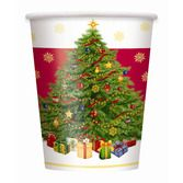 Christmas Table Accessories Starry Christmas Tree Cups Image