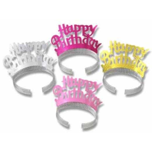 Birthday Party Hats & Headwear Happy Birthday Tiara Image
