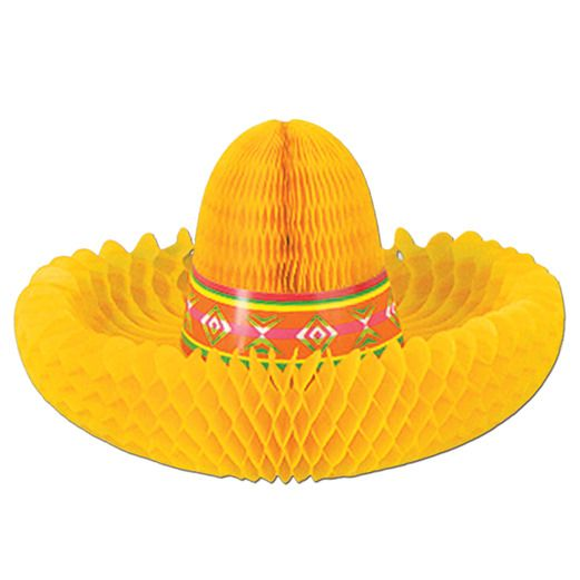Cinco de Mayo Decorations Fiesta Hat Centerpiece Image