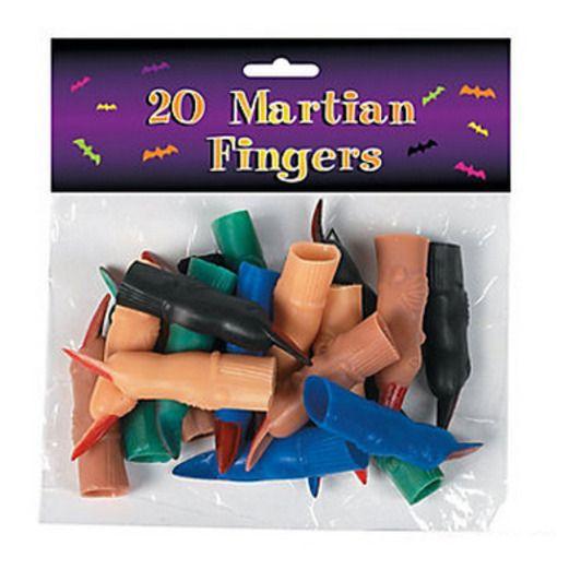 Halloween Favors & Prizes Vinyl Martian Fingers (72) Image