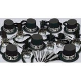 New Years Party Kits Silver Ritz for 50 Image