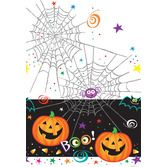 Halloween Table Accessories Pumpkin Pals Table Cover Image