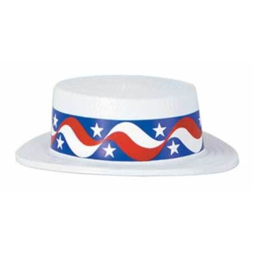 4th of July Hats & Headwear Skimmer Hat with Star Band Image
