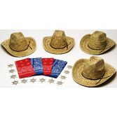 Western Party Kits Adult Western Party Kit for 12 Image