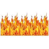 Halloween Decorations Flame Backdrop Image
