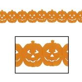 Halloween Decorations Jack-O-Lantern Garland Image