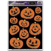 Halloween Decorations Jack-O-Lantern Clings Image