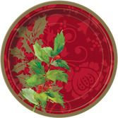 Christmas Table Accessories Elegant Holiday Lunch Plates Image