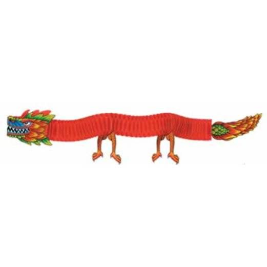 International Decorations Asian Tissue Dragon Image