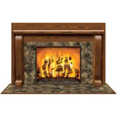 Christmas Decorations Fireplace Insta View Image