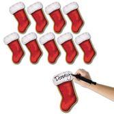 Christmas Decorations Christmas Stocking Cutouts Image