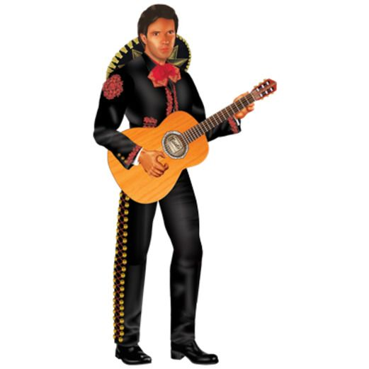 Cinco de Mayo Decorations Mariachi Cutout Image