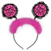 Birthday Party Hats & Headwear Party Girl Head Bopper Image