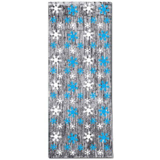 Decorations / Hanging Decorations Snowflake Metallic Curtain Image