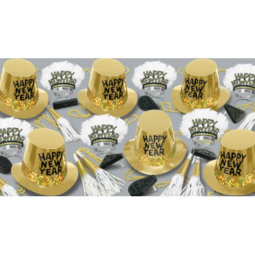 New Years Party Kits Gold Rush for 50 Image