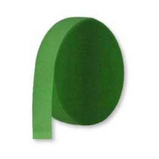 St. Patrick's Day Decorations Crepe Streamer Holly Green Image