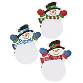 Christmas Favors & Prizes Snowman Notepads Image